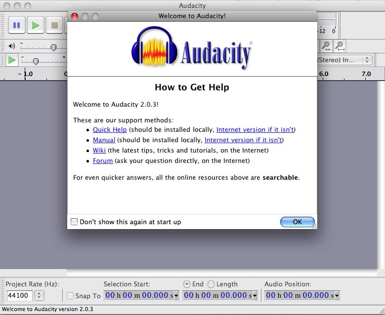 ตั้งชื่อภาพ Record Audio on a PC Step 1